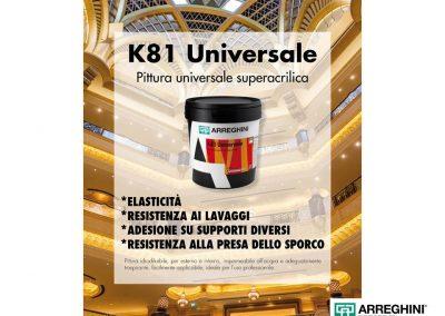 k81 universale ok